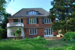 Eigentumswohnung in einer Villa in Hamburg