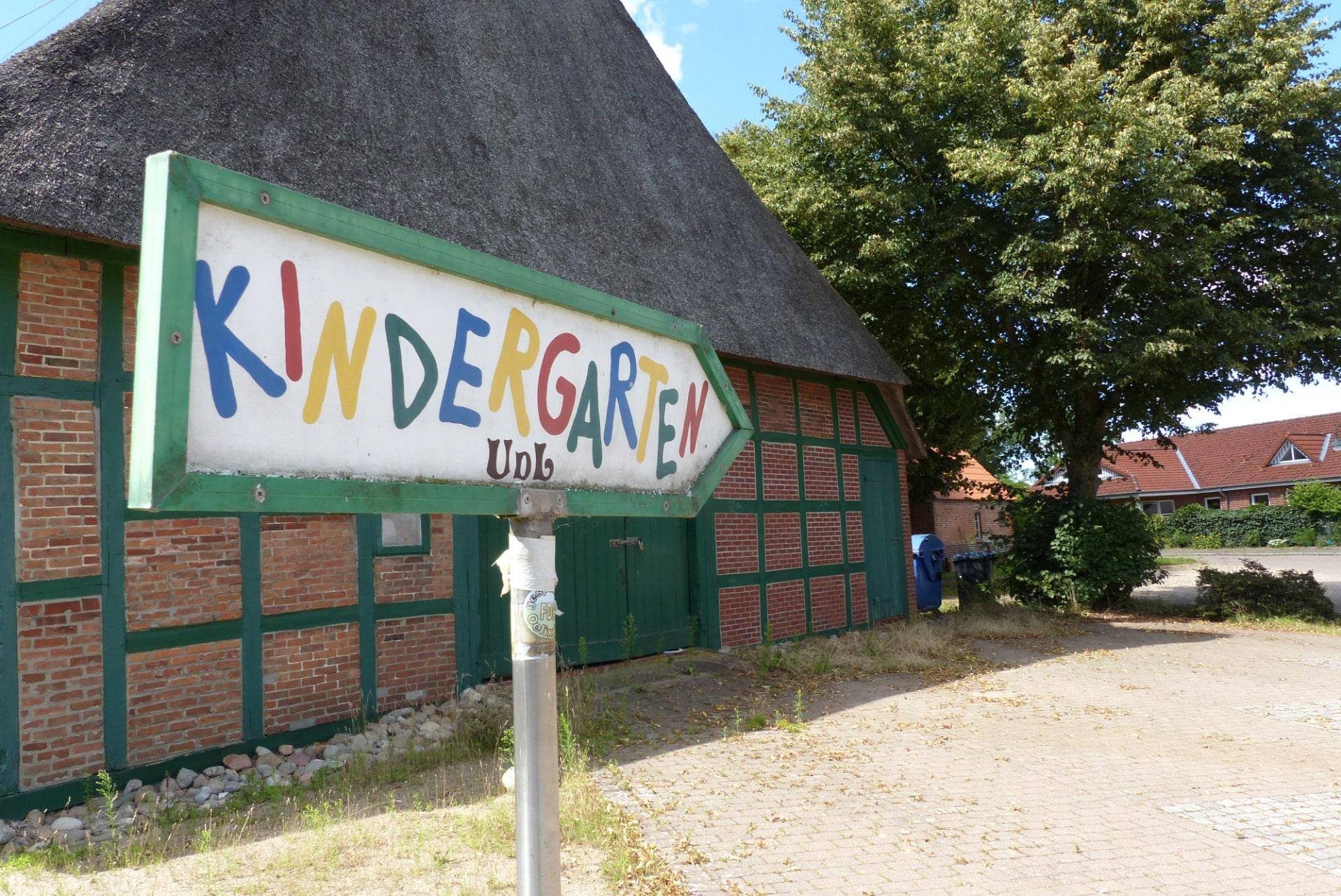 Ein Kindergarten in Oelixdorf