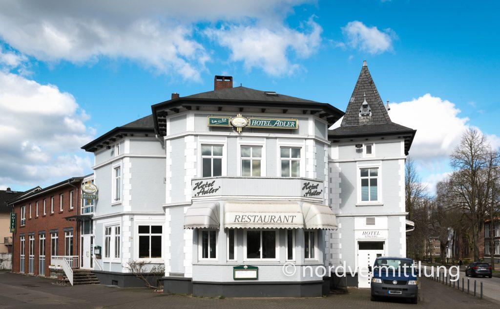Angebot: Stilvolles Hotel Adler mit Restaurant und Saalbetrieb in Itzehoe zu verkaufen!